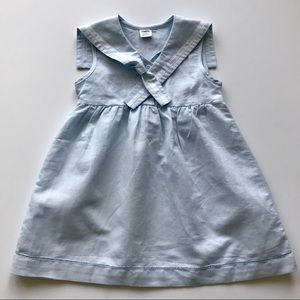 Other - Cutest Baby Girl Classic Sailor Dress Pastel Blue